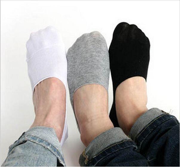 Мужские мокасины носки 2015 мода повседневная хлопчатобумажные носки классический мужской краткие невидимые тапочки мелкий рот не показывать носок TZX174