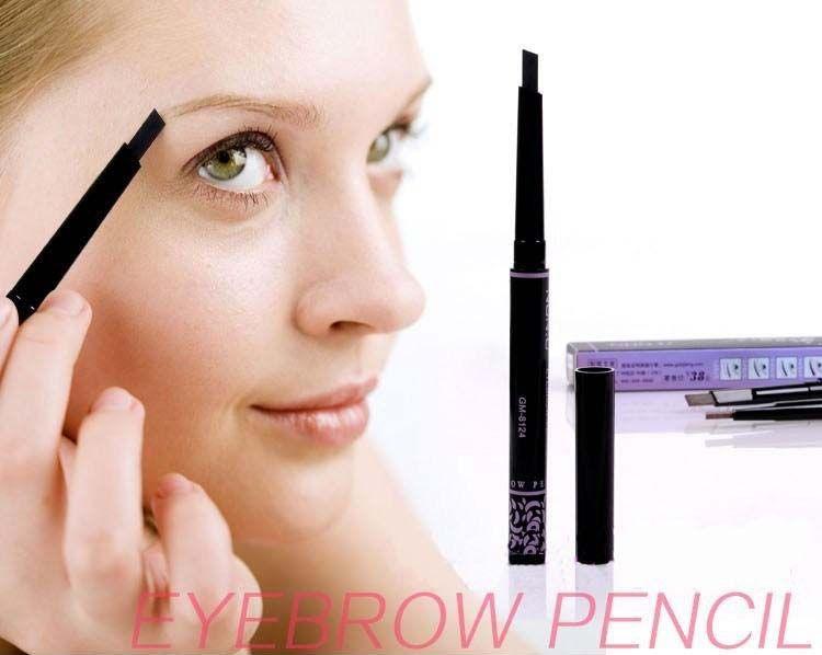 VIP 판매자 자동 눈썹 연필 메이크업 5 스타일 페인트 눈썹 브러쉬 화장품 눈썹 라이너 도구 눈썹 연필 눈썹 증강