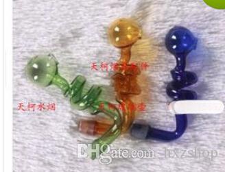 Цвет спираль горшок водопроводные трубы из стекла аксессуары (100шт)