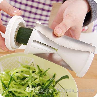 Spirale Twister tronçonneuse Cutter Légume Fruit Outil Cuisine Éplucheur spiralizer
