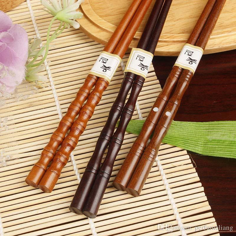 Chinese Food Tie Line Flatware Wooden Tableware Dinnerware Wood Chopsticks