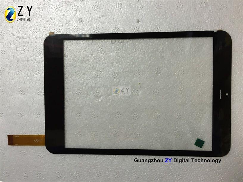 Sıcak 8 inç yedek dokunmatik ekran sayısallaştırıcı DH-0736A1-PG