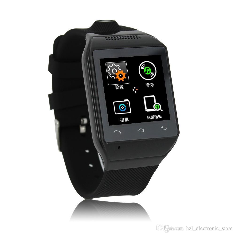 1.54  2MP كاميرا GSM FM phonewatch SIM TF S19 ساعة اليد جديد الذكية ووتش يدوي GSM FM مزامنة بلوتوث Smartwatch الهاتف الذكي