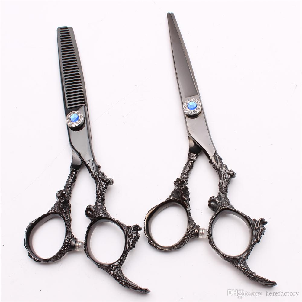 C11 11 JP 11C Customize Logo Hot Sell Professional Human Hair Scissors  Barbers Hairdressing Scissors Cutting Thinning Shears Style Tools Hair