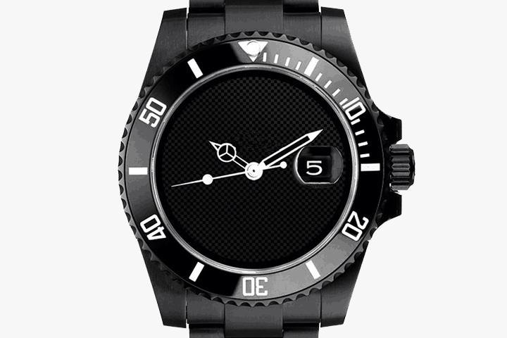 All black men stainless Steel watches, Fashion ceramic Bezel sapphire glass automatic Male watch men wrist watches 068