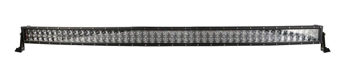 42 '' Osram Bar LED Curvo 400 W Barra de luz LED Spot de carro Feixe de inundação 4X4 80x5W 40000LM 4WD SUV JIPE barco Fora da estrada Nevoeiro Condução barra de luz conduzida 12V