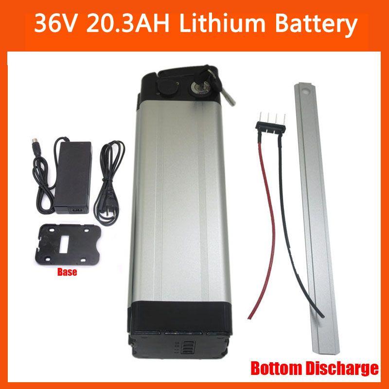 Batteria al litio 36V 20AH Batteria elettrica 36V 20.3AH Batteria al litio Utilizzare la cella NCR18650PF con 30A BMS 42V 2A carica inferiore del caricatore