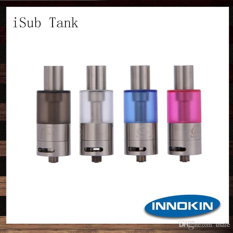 Innokin ISUBタンク4mlサブオームの気化器タンク縦型Deepcoilシステムアトマイザー100%オリジナル