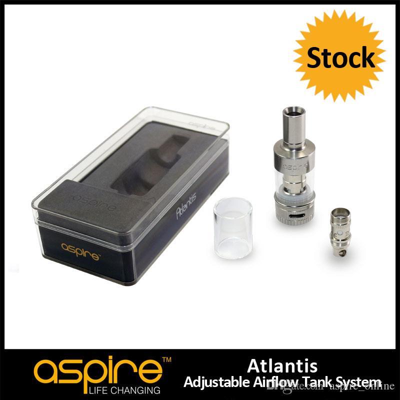 Hurtownie 100% Oryginalny Aspior Atlantis Tank 2ml Atlantis Tank Ładna jakość Aspirowi Atlantis Atomizer z cewką 0.5ohm Atlantis BVC