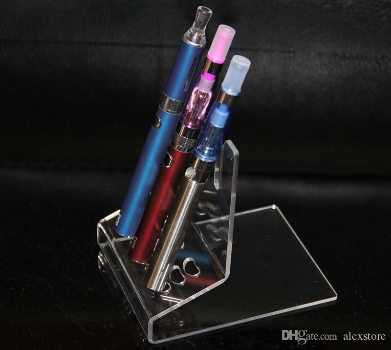 Acrylic e cig display clear stand shelf holder vape rack for ego battery ecig vaporizer pen mech mod mechanical box vape rda DHL