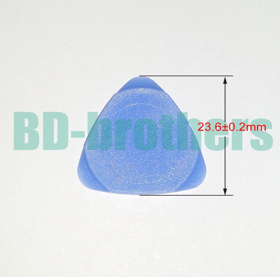 23,6mm piccolo più spesso blu di plastica Trilateral Pick Pry strumento di caccia apertura Shell kit di strumenti di riparazione triangolare per il telefono Tablet PC 1000 pz / lotto