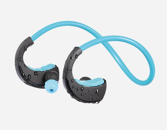 Dacom Atleta Sport Cuffie Auricolari Wireless Bluetooth 4.1 Cuffie con gancio per l'orecchio Handfree a prova di sudore con MIC NFC per iPhone Samsung