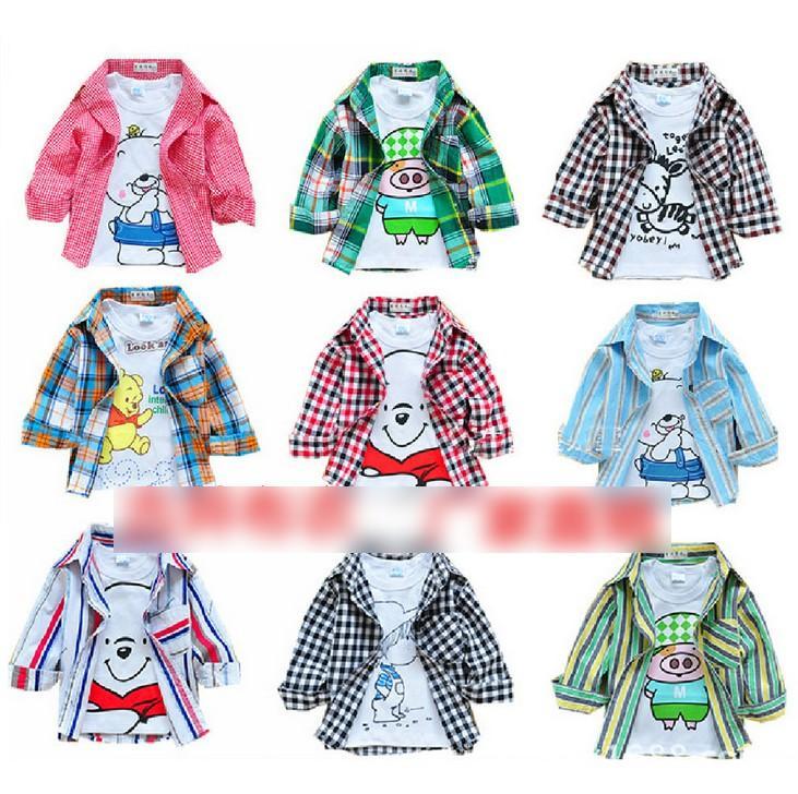 2b154d95e05d 2016 England Style Baby Boys Shirts Long Sleeve Shirt Striped Spring Autumn  Cotton Shirt Boy Korean ...
