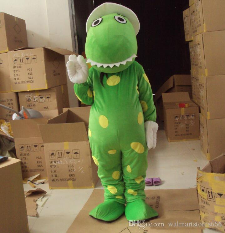 2018 heißer Verkauf Dorothy das Dinosaurier Maskottchen Kostüm Begriffe Kopf Material Kostenloser Versand