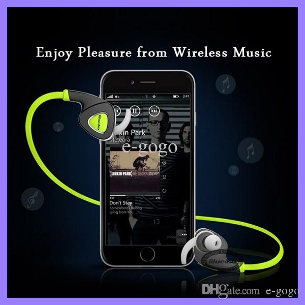 Bluedio Q5 Bluetooth Wireless Sports Stereo Waterproof Wireless Headset Earphone with Mic