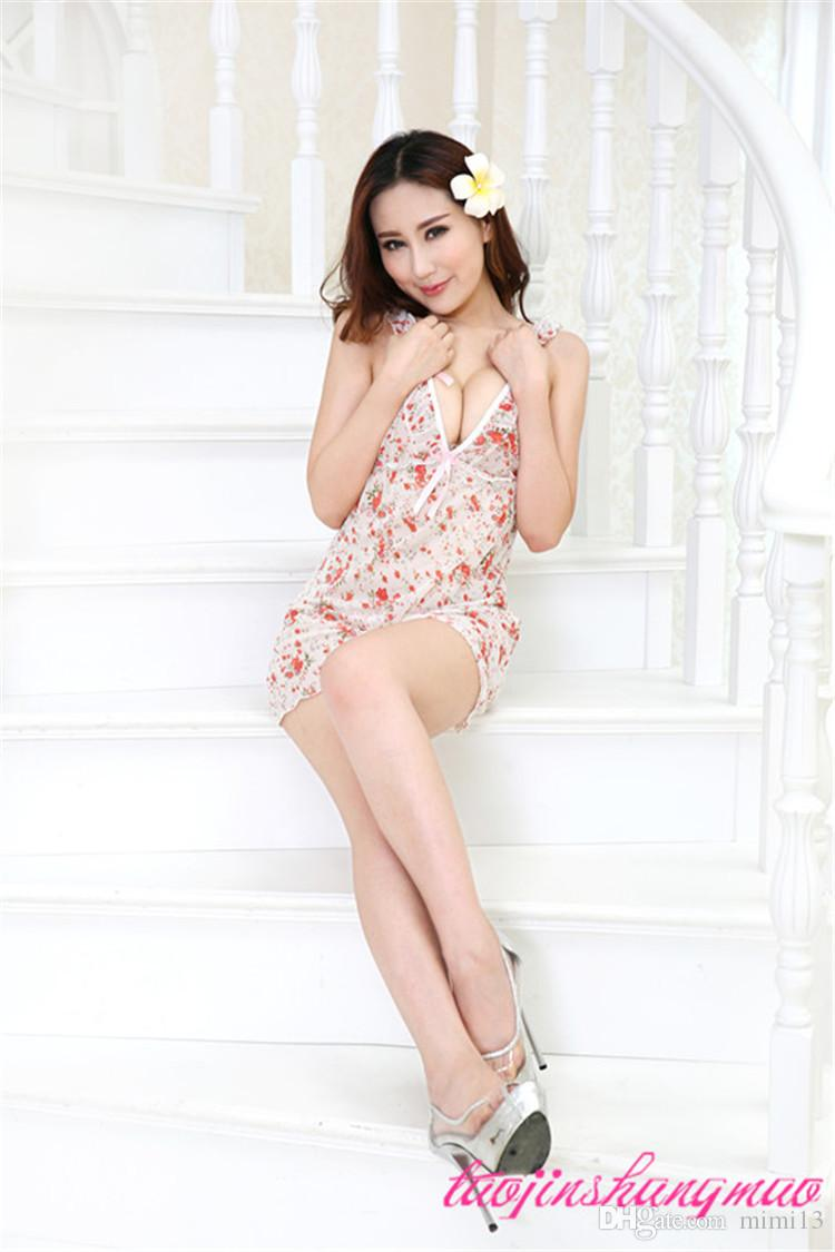 Broken Beautiful Pajamas Adult Lingerie Women Feeling High Quality ...