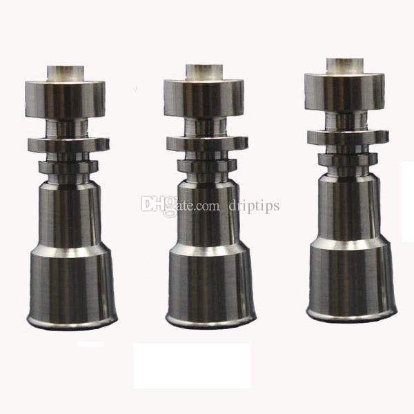 Domeless Titanium Nail GR2 Wax Oil 14mm&18.8mm 10mm&14mm female joint Universal Hookah Accessories Glass Bongs