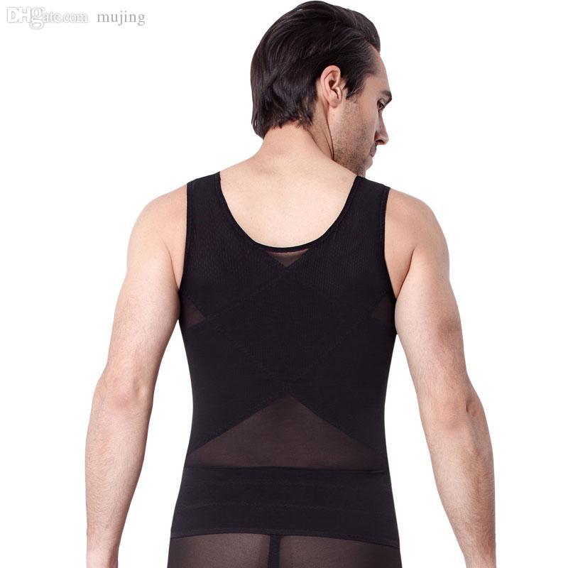 Оптовая продажа-U BISOU, чем тонкий человек тела скульптуры корпии процент костюм тела регулирования живота тонкий живот для похудения одежда корсеты.