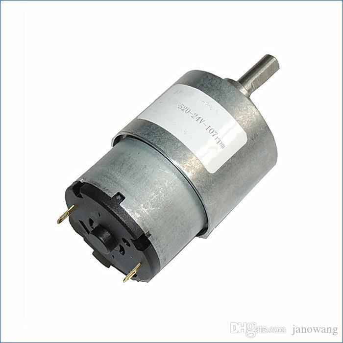 고품질 마이크로 DC 기어 모터 6V 12V 24V, 소형 전동기, 풀 메탈 기어, J14477