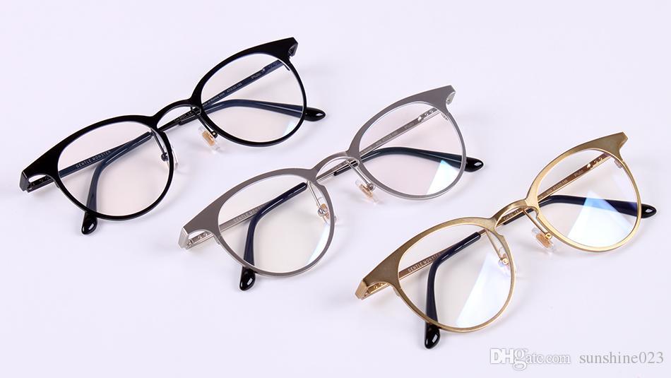 2017 Dadapro Marca Gentle Uomo Donna V logo Plulo Lente trasparente Computer Gaming Occhiali GM Montature per occhiali oculos