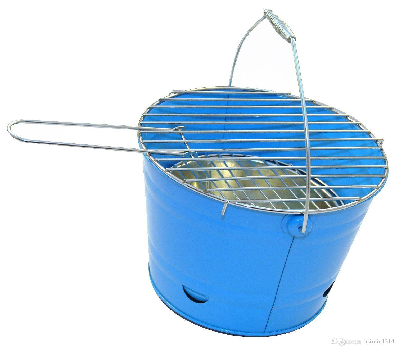 indoor and outdoor metal BBQ bucket