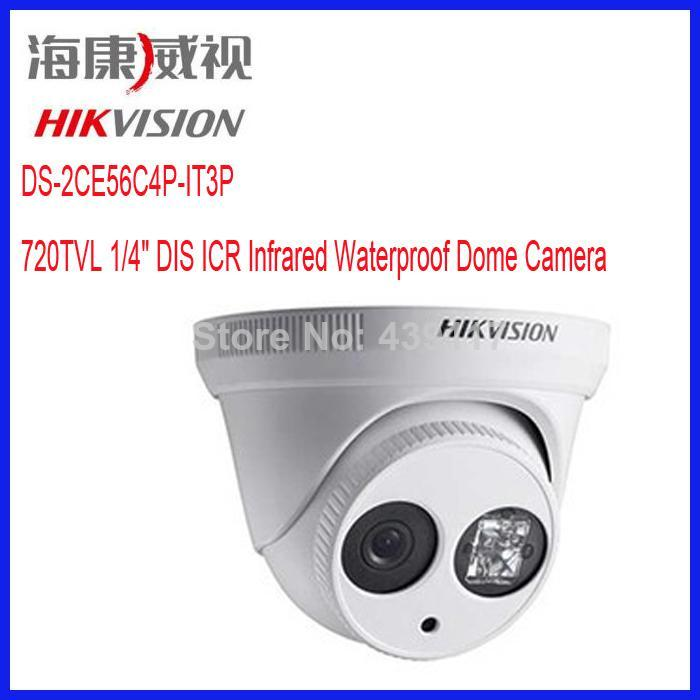 DS-2CE56C4P-IT3P هيكفيجن 720TVL DIS ICR قبة التناظرية الدوائر التلفزيونية المغلقة كاميرا للرؤية الليلية 30M كاميرا تسجيل الفيديو