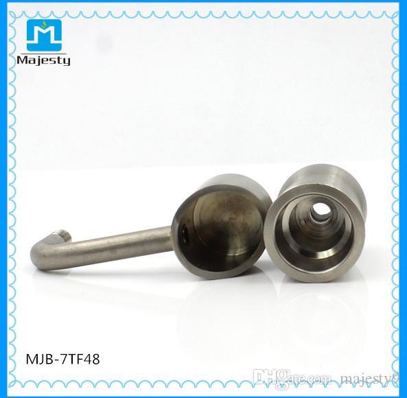 90% титана гвозди 14 мм 18 мм Domeless Титана ногти класса 2 Титана ногтей для курения стекла бонги
