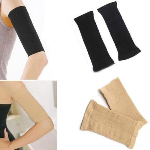 Mujeres Fat Buster Burner Calorie Off Adelgaza el brazo Shaper Pérdida de peso Celulitis fina Wrap Masaje Bandas de cinturón para damas niñas