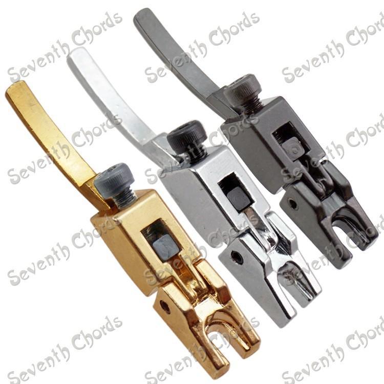 6 Pcs Vintage Floyd Rose Trancado Cordas Selas para Guitarra Elétrica Tremolo Ponte Dupla Bloqueio Systyem