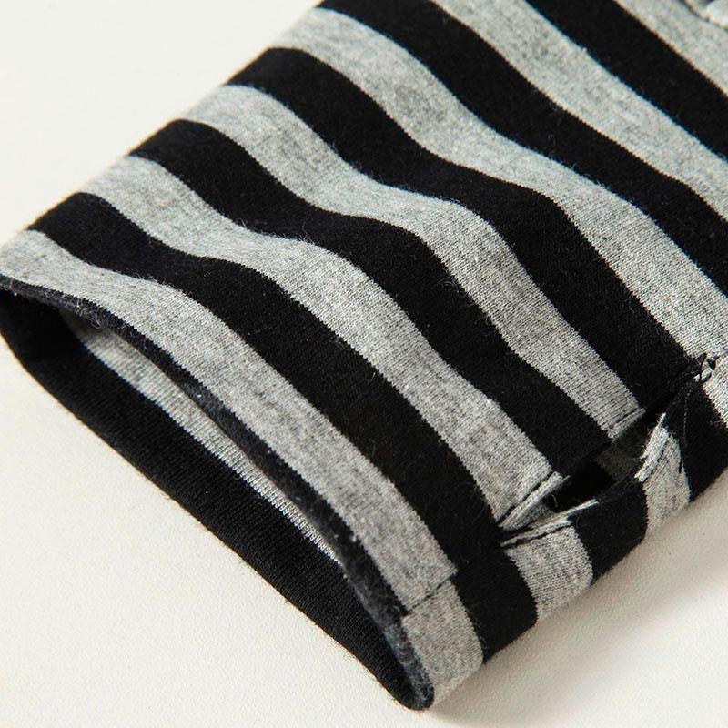 2016 Men t shirts tyga hip hop swag striped long sleeve t shirt extended kanye west men oversized tee shirt homme t shirt men (8)