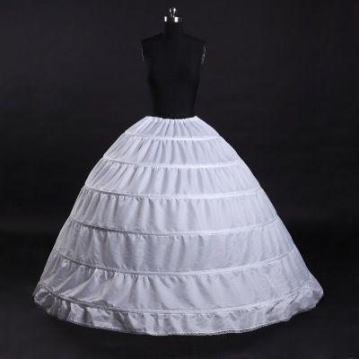 110-120 cm di diametro biancheria intima crinolina 6 cerchio sottoveste per abito da ballo abito accessori da sposa abiti da sposa sottogonna