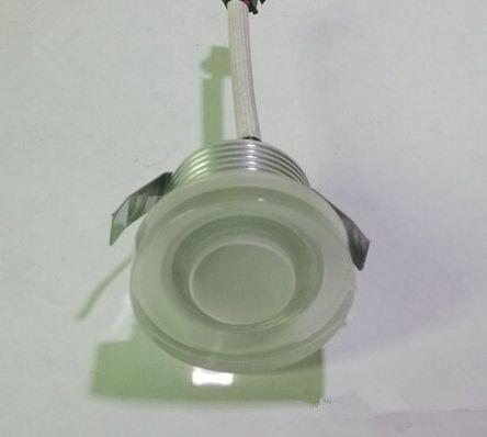 Dimmable 3W mini haute puissance encastré LED Downlight AC85v- 260V avec plafond pilote LED vers le bas lumières