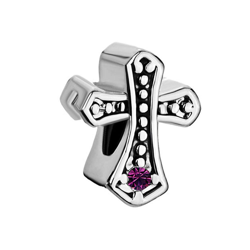 10 шт. за лот металлический слайд шарик кельтский крест Swarovski Crystal бисер Fit Pandora Chamilia Biagi браслет