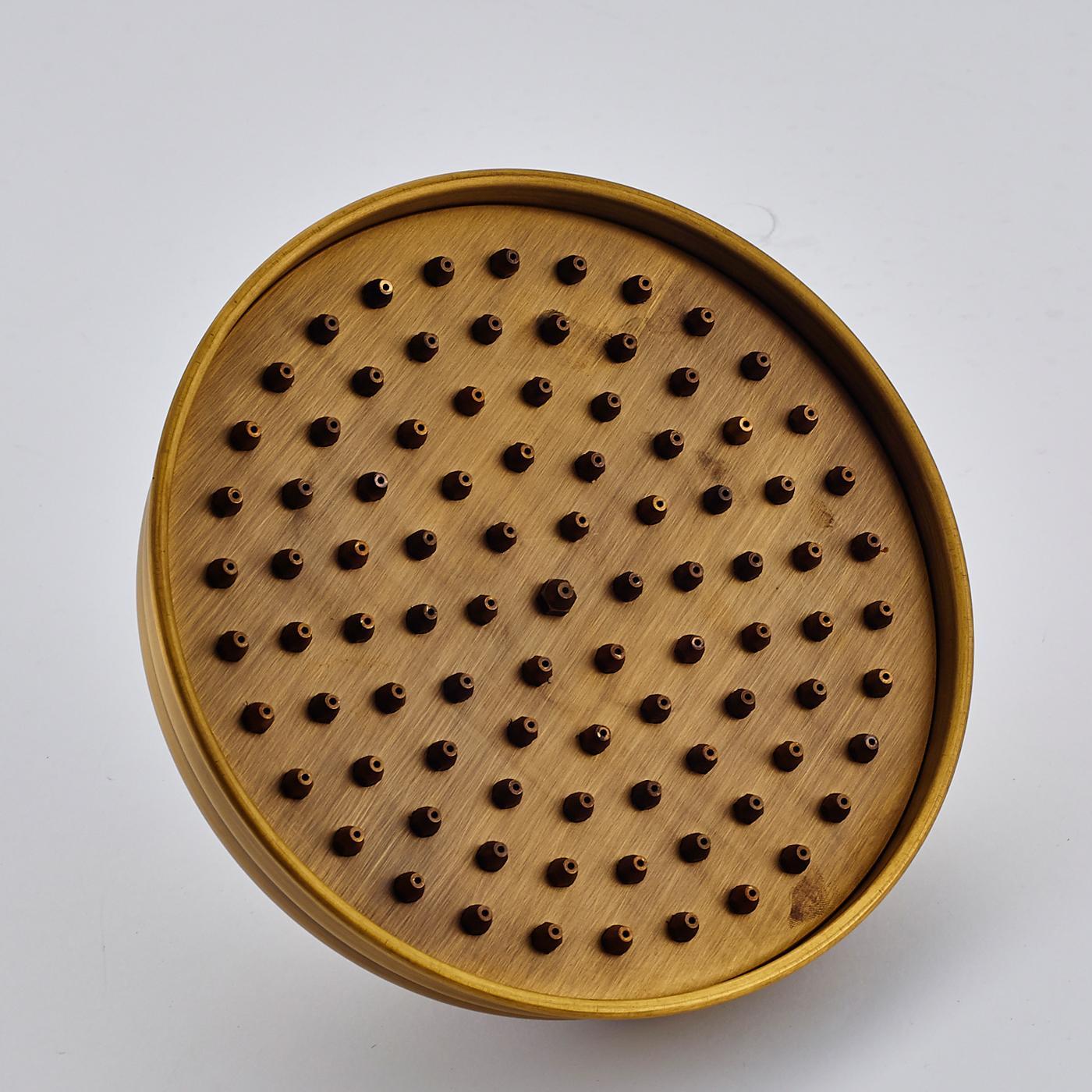 """도매 및 소매 무료 배송 Antique Brass 8 """"Rainfall Shower Faucet 샤워 헤드 교체"""