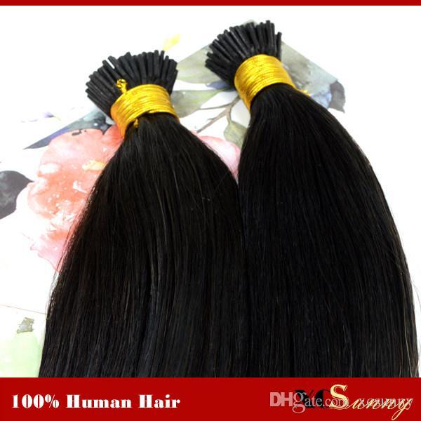 """XCSUNNY I Astuce Extensions de Cheveux Kératine Fusion 1g 18 """"20"""" Blonde 100% Extensions de Cheveux Humains Stick Tip Extensions de Cheveux 100g / pk"""