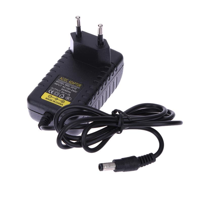AC 100-240V Converter Adapter DC 5.5 x 2.5MM 5V 1A 1000mA Charger UK Plug