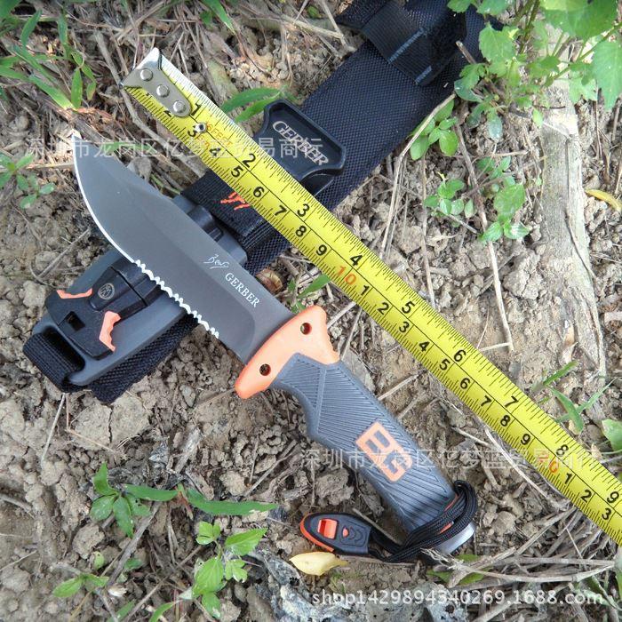 Renovator Dremel Accessories Fabricantes Suministro Directo Cuchillo al aire libre Geb Bell Ultimate Bucking Camping recto Supervivencia para la autodefensa