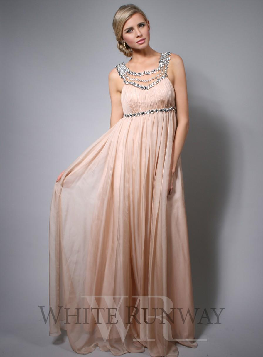 Cheap Maternity Dresses Bridesmaid Dresses With Crystals Illusion ...