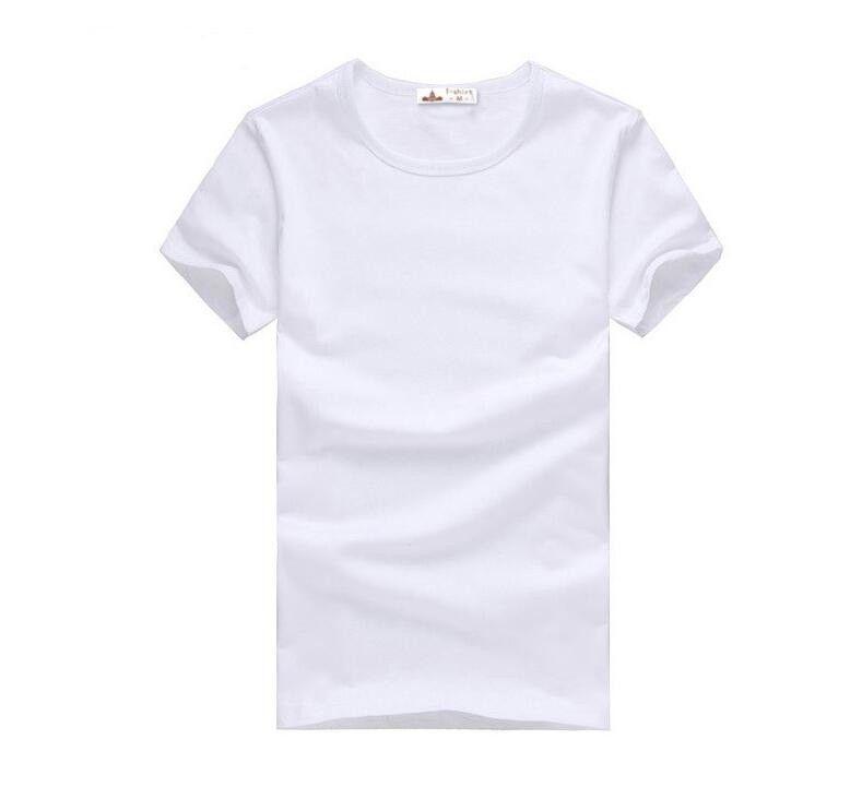 2020 vêtements tout nouveau été Slim T-shirts T-shirts blanc gris noir Slim Fit manches courtes T-shirt S-XXXL