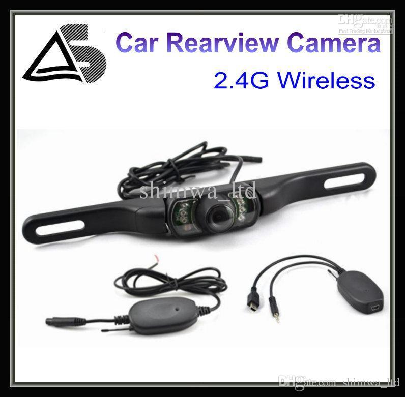 2.4 lente sem fio reversa do ângulo da câmera reversa 170 de Camear da câmera da opinião traseira do carro de G