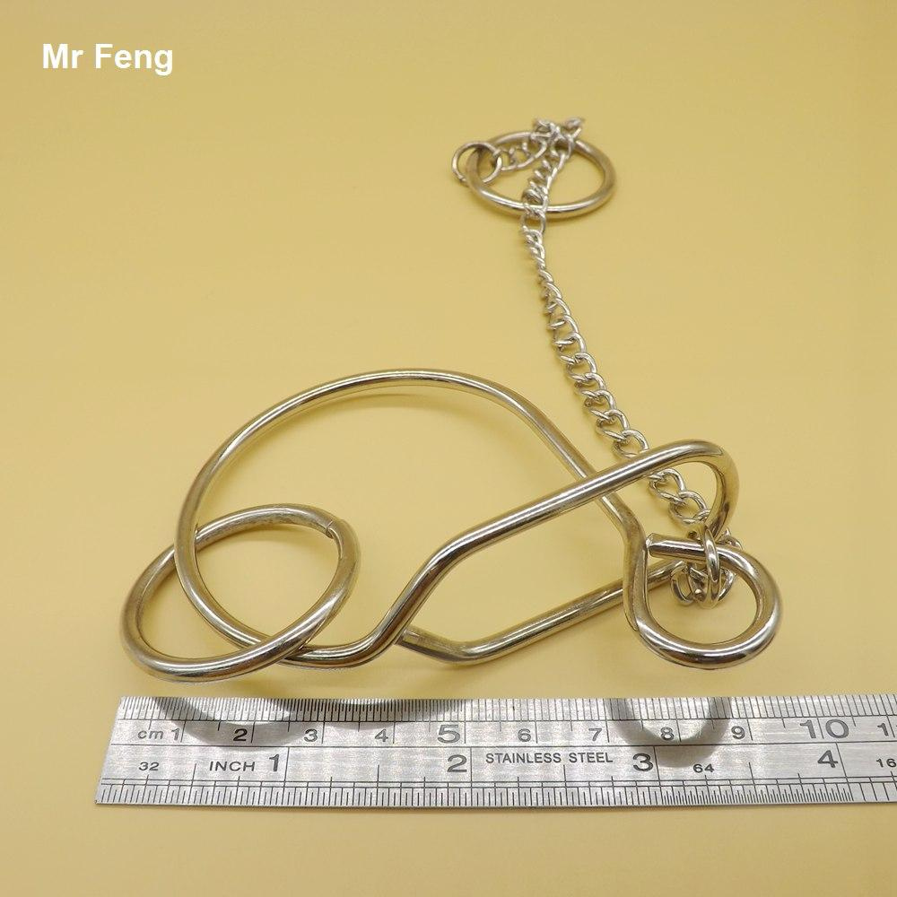 Laughably Metal Snail Ring Puzzle 성인 어린이 장난감 IQ 게임 도전