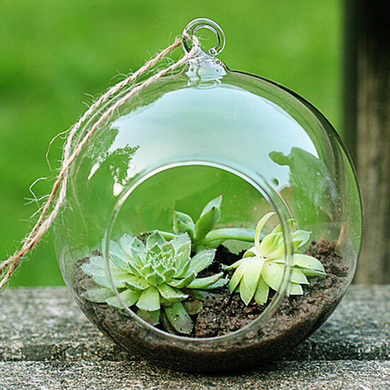 Panelas Plantadores Início vasos de vidro decoração de porcelana vaso de flor Flower Vasos de vidro Vasos Limpar suspensão da flor Bulbo vaso Tipos de porcelana