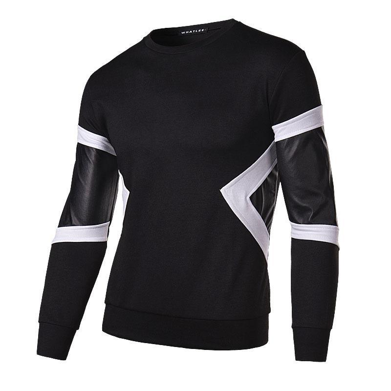 New men's sweater T-shirt sleeves bark small fashion personality of Youth Popular baseball clothing sleeve head