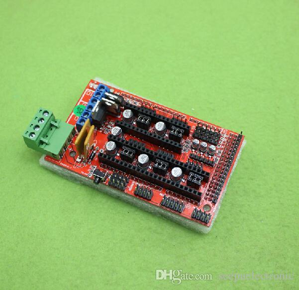 1Set 3D Printer Kit RAMPS+2004 LCD Controller+MEGA 2560 R3+5pc A4988 Driver