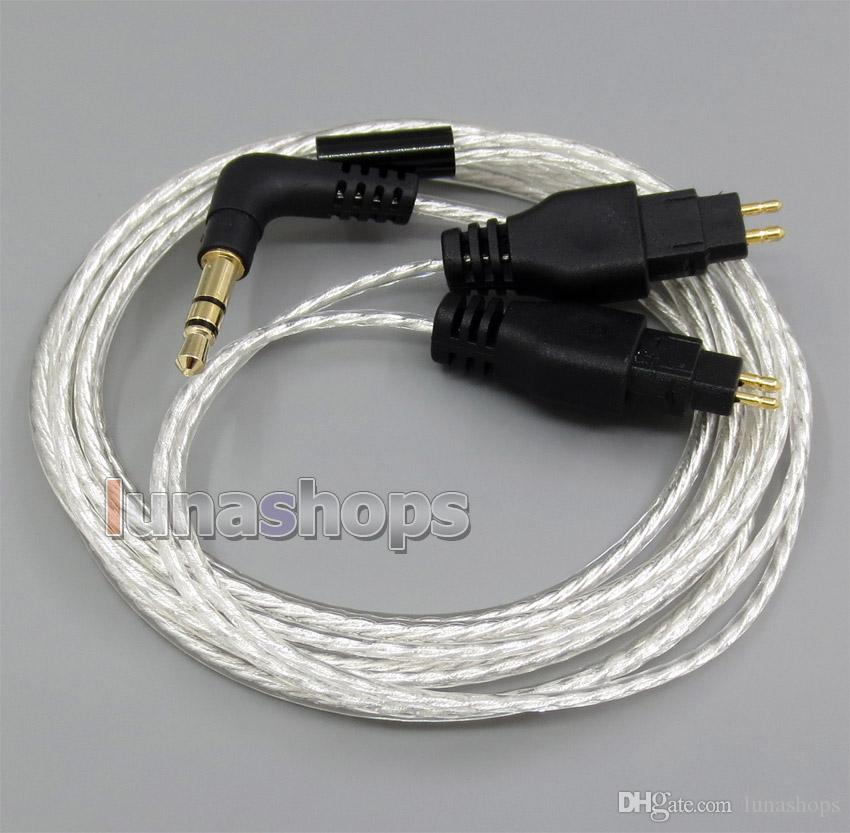 Lightweight Silver Plated 4N OCC Cable For Sennheiser HD525 HD545 HD565 HD25 HD25-1 headphone