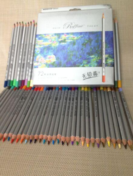 Marco 72 Renkler Kalem lapis de cor Profesyonel toksik Olmayan Kurşunsuz Renkli Kalem Okul Malzemeleri Boyama Kalemleri