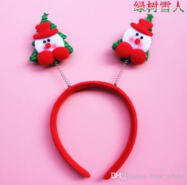 Santa Claus hairpin Xmas Hairband Christmas Hairbands Kids Adults ...
