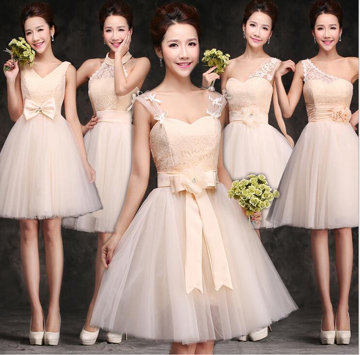 2016 Bridesmaid Dresses Under 50 Short