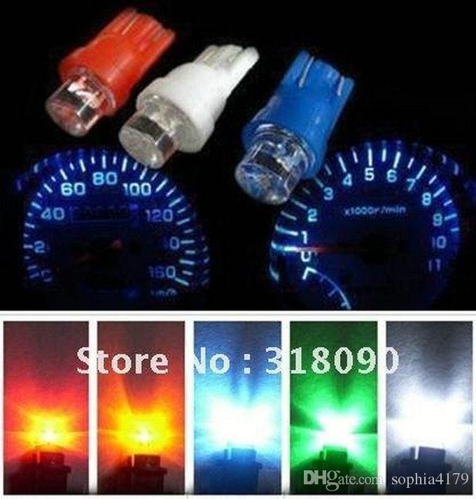 프로모션 2000 개 T10 5050 1smd 1 Led 전구 웨지 자료 대시 보드 게이지 전구 자동차 램프 Led 빛