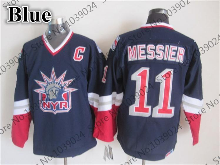 8035e9b93 ... 11 Mark Messier retro New York Rangers Alternate lady liberty CCM 1996- 97